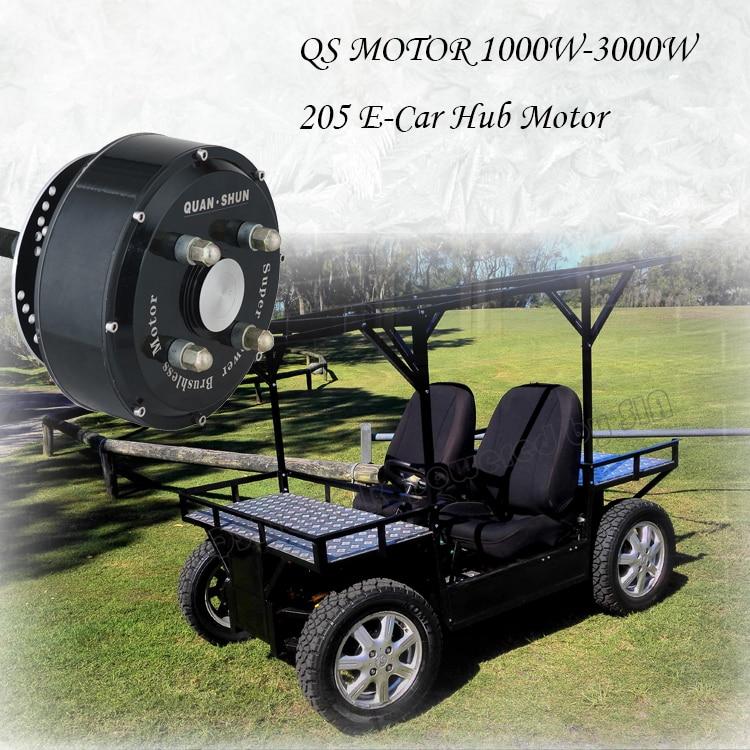 205 E-Car hub motor