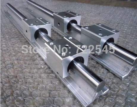 12 mm Linear Rail Set 2xSBR12 Length 1400 mm + 4xSBR12UU Block For CNC Parts Set12 mm Linear Rail Set 2xSBR12 Length 1400 mm + 4xSBR12UU Block For CNC Parts Set
