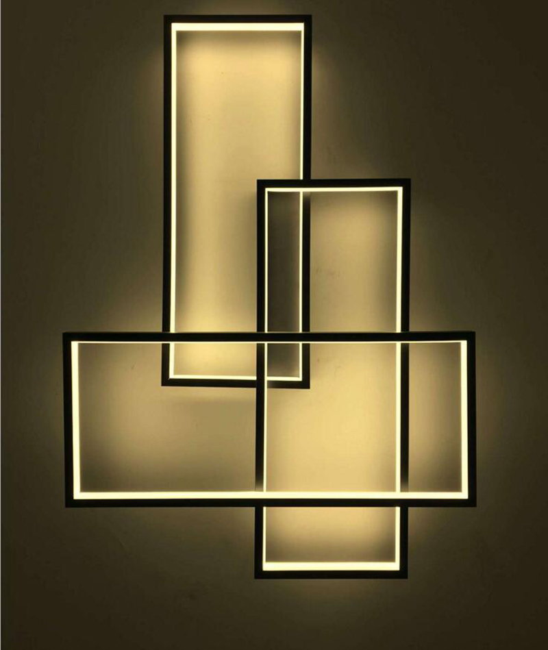 Design Features Style Room Hotel Sample Room Aisle Restaurant Background Decorative Wall Lamp Line Light Ceiling Lamp led lamps