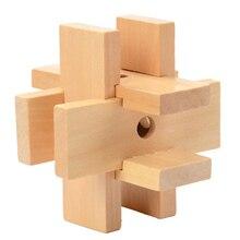 Wooden Interlocking Puzzle 2