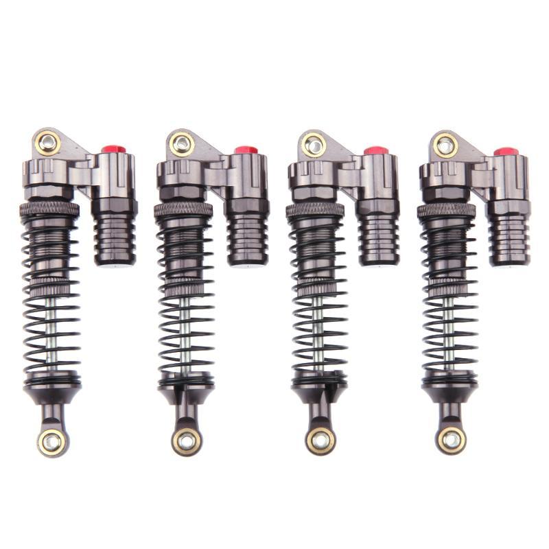 4 stücke Hochwertige Aluminium RC Crawler Auto Stoßdämpfer Vehicel Negative Druck Teile für Axial SCX10 II D90 TRX-4