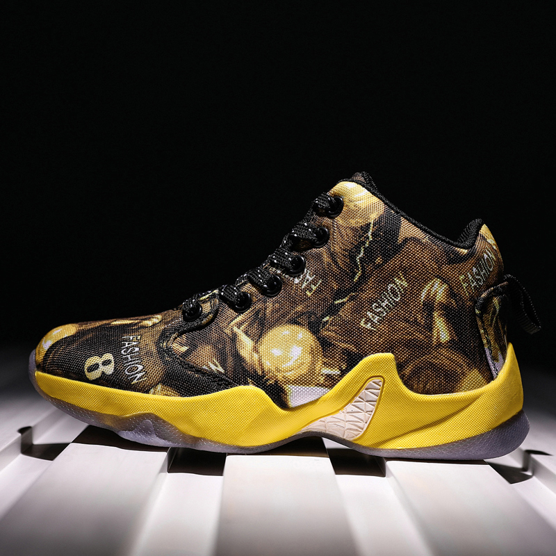 Sneakers Basketball-Shoes New And Breathable Outsole Wear-Resistant Refreshing Non-Slip