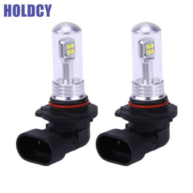 2Pcs HB3 9005 HB4 9006 LED Light Bulb 80W 1500LM Fog Lamp Driving Daytime Running DRL Headlight Bulbs Auto Parts