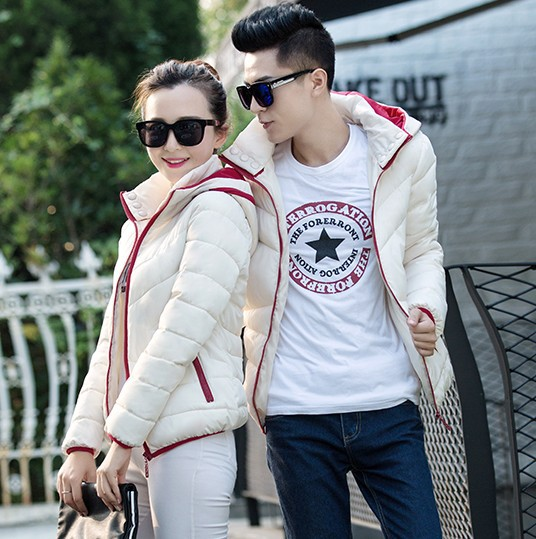 2016New Hot Selling Autumn winter fashion slim men women couples outerwear Warm Down Cotton wadded Ladies Jacket Cheap wholesale those days free shipping 2015 new men england style fashion autumn winter thermal gentle yuppies slim casual wadded jacket down