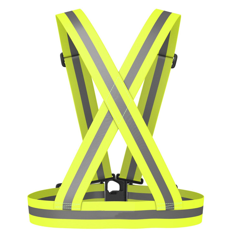 New Unisex Outdoor Cycling Safety Vest Bike Ribbon Bicycle Light Reflecing Elastic Harness For Night Riding Running Jogging Bicycle Accessories Back To Search Resultssports & Entertainment