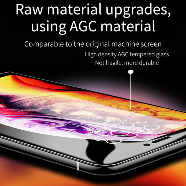 Protective glass 9D for iPhone 6 6S 7 8 plus X 10 iphone 8 protector tempered glass
