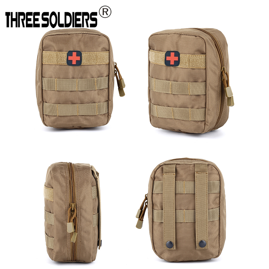Outdoor Molle Tactical Military multi-function Accessory Bag Emergency Medical Pouch for Outdoor Hiking trip