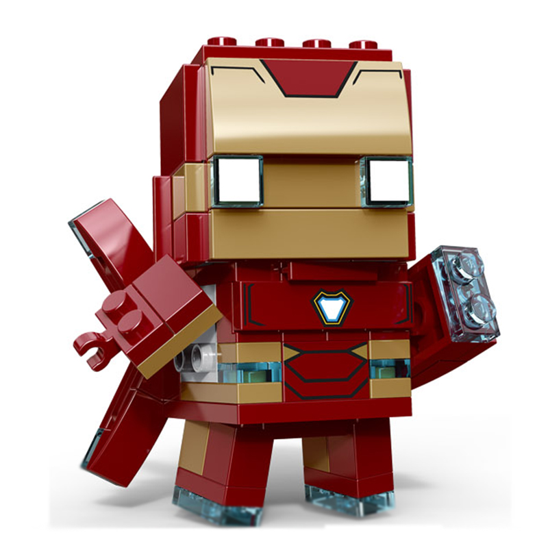 Decool Brickheadz SuperHeroes IronMan Marvel Super Heroes Superman Batman Figures Building Block Bricks legoING DC avengers Toys estel mohito набор лайм