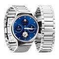 Marca de lujo Relojes de Los Hombres Correa de Acero Inoxidable de Malla de Reemplazo Correas de Reloj 42mm Venda de Reloj Para Huawei