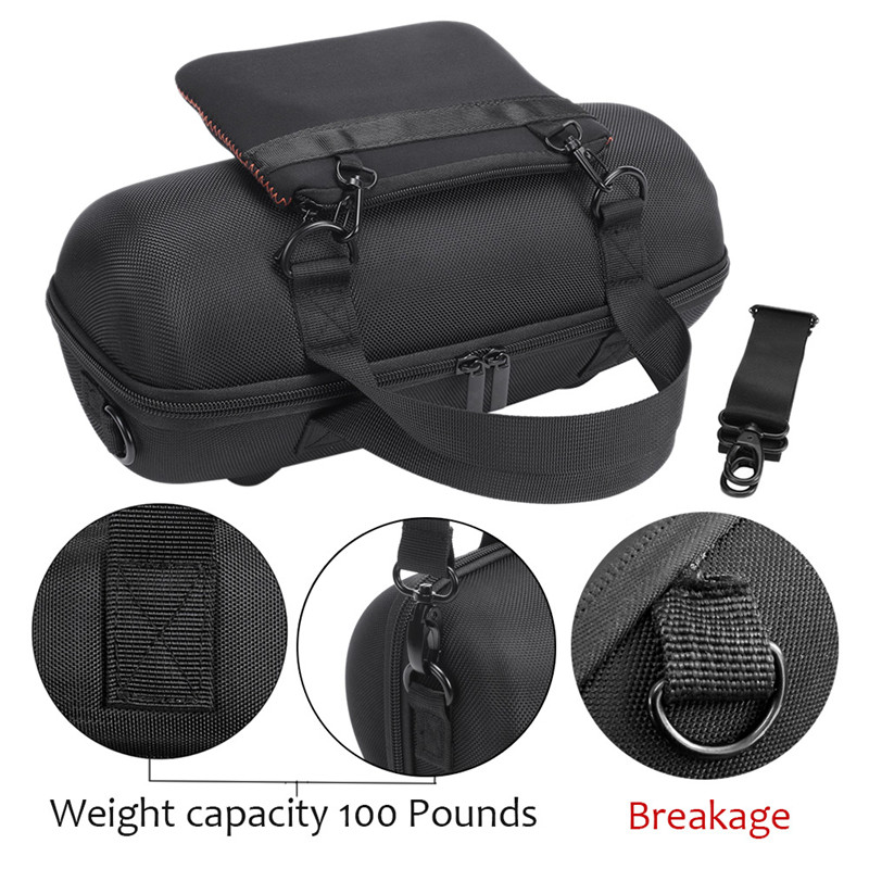 Portable Storage Box Cover Bag Case EVA Hard Case Travel Carrying For JBL For Xtreme 2 Bluetooth Speaker + Charger Bag
