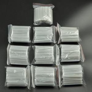 Image 1 - 1000 개/몫 40mm 45mm Smoove 광섬유 보호 슬리브 온도 조절 식 스플 라이스 보호기 Tubo 케이블 열 수축 튜브