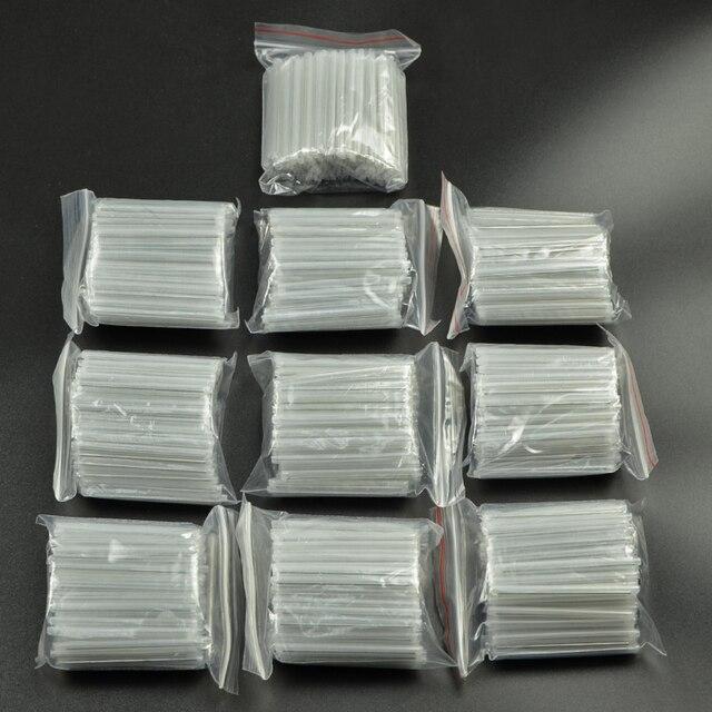 1000 개/몫 40mm 45mm Smoove 광섬유 보호 슬리브 온도 조절 식 스플 라이스 보호기 Tubo 케이블 열 수축 튜브