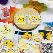 40 pcs Anime cute circle Stickers for Car Motorcycle Phone book Travel Luggage kids toys Funny decoration Sticker Bomb Decals