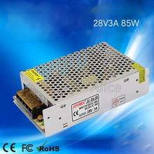 28V 3A 85W switching power supply  intercom power supply use for led strip light ,monitoring equipment цена в Москве и Питере
