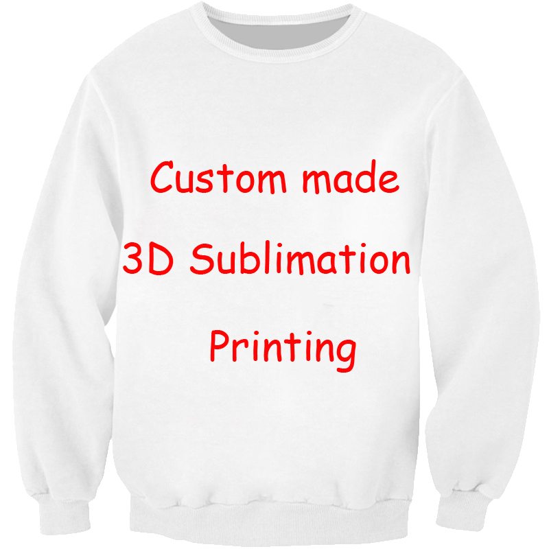 b4734863e PLstar Cosmos Custom - Create your own - 3D Sublimation Print Crew neck  Sweatshirt - plus size Drop shipping