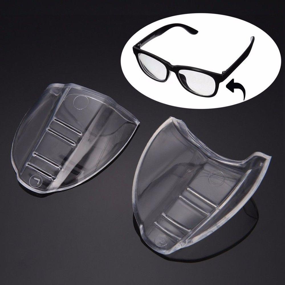 2 Stücke Universal Flexible Seite Shields Flügel Schutzbrille Tpu Sicherheit Optische Slip-on Protector Brillen Zubehör Heißer Verkauf Angenehm Im Nachgeschmack