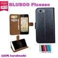 Super hot! 2016 BLUBOO Picasso 5.0 polegada caso o preço de fábrica 7 cores de couro exclusivo antiderrapante tampa do telefone + rastreamento