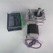 Червячный редуктор RV030 редуктор скорости 14 мм выход с Nema23 шаговый двигатель драйвер комплект 1.2NM 172Oz-in конвертировать 90 градусов для ЧПУ маршрутизатор