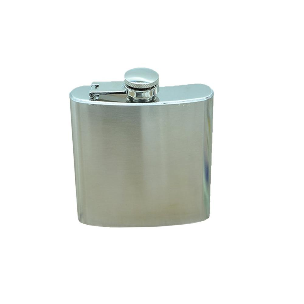 Portable Stainless Steel Hip Flask Outdoor Portable Copper Cover 6 Ounce Hip Flask Professional Fashion Portable(China)