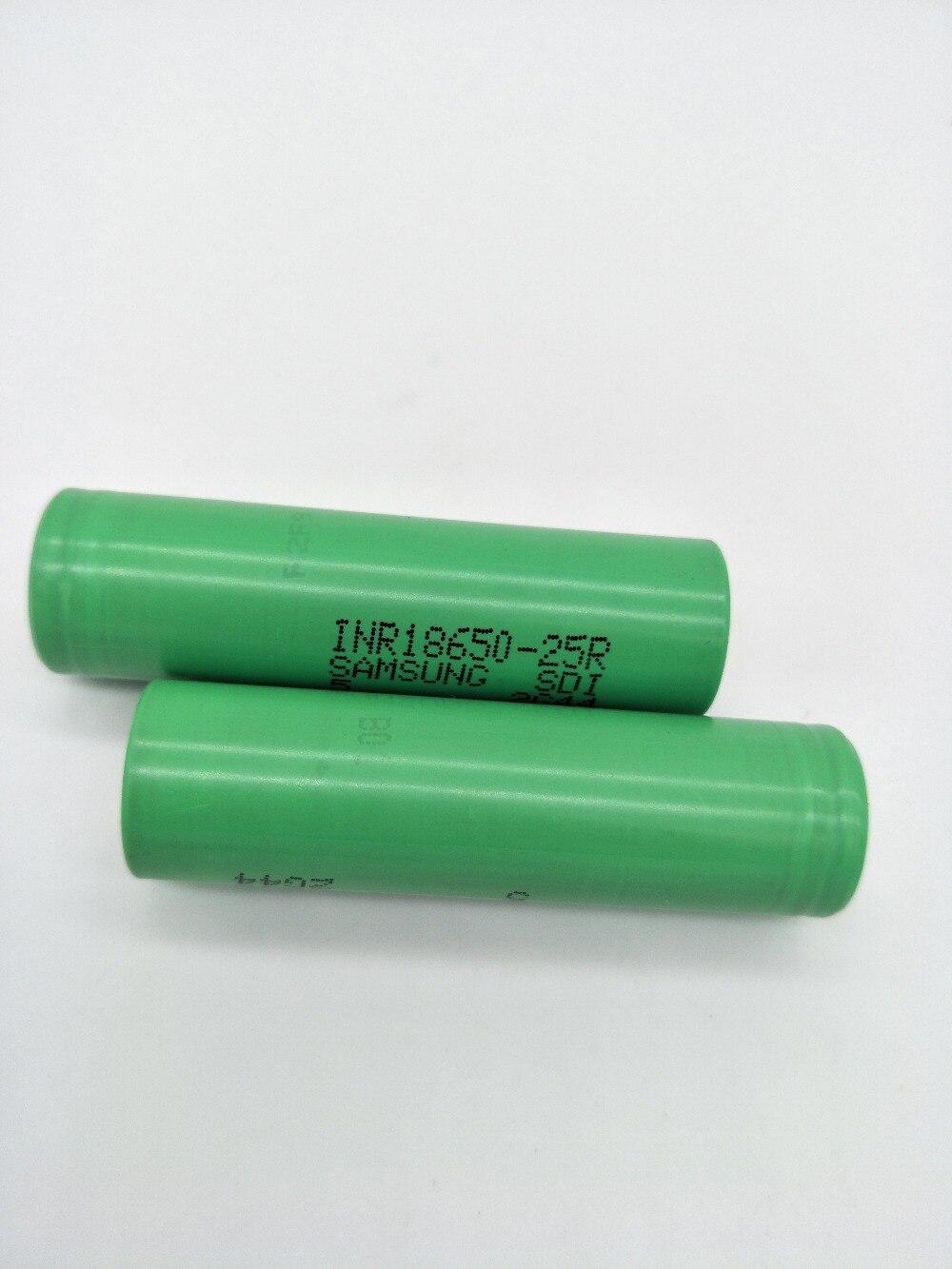 Baterias Recarregáveis 6 pcs liitokala para samsung Capacidade Nominal : 2500mah