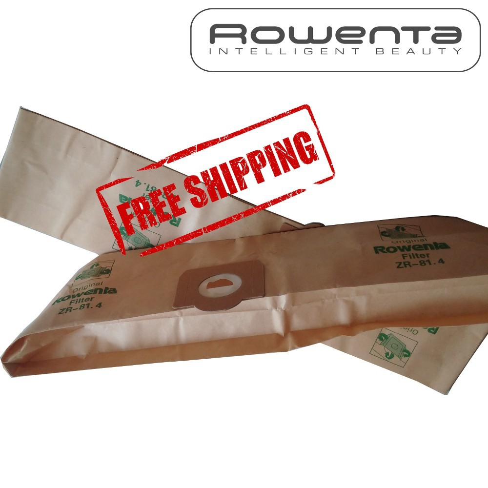 Sacs pour aspirateur pour Rowenta RU071 RU10 RU100-Pack de 5-Type ZR81
