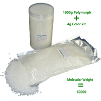 1000g Polycaprolactone PCL Polymorph Moldable Plastic For Prototype Hobbyist Usage