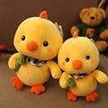 Kawaii Плюшевые куклы Держать насекомых цыплята игрушки для детей Рождественские Подарки На День Рождения
