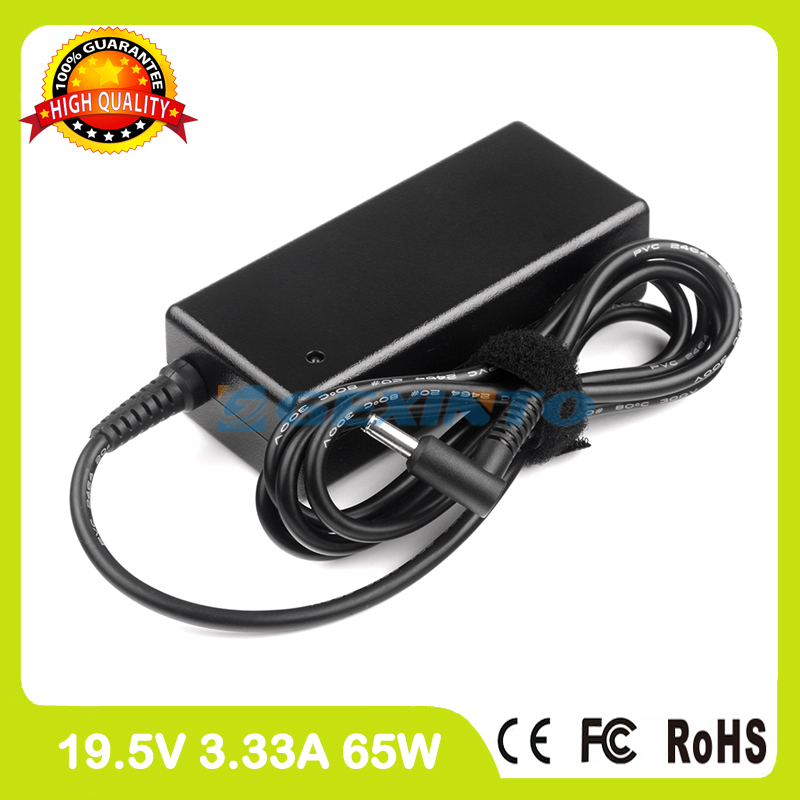19.5V 3.33A 65W laptop charger ac adapter for <font><b>HP</b></font> <font><b>Envy</b></font> 15t-u400 <font><b>x360</b></font> <font><b>Convertible</b></font> PC 17-ac000 17-ac100 17-ad000 17-ad100 17-bs000 image