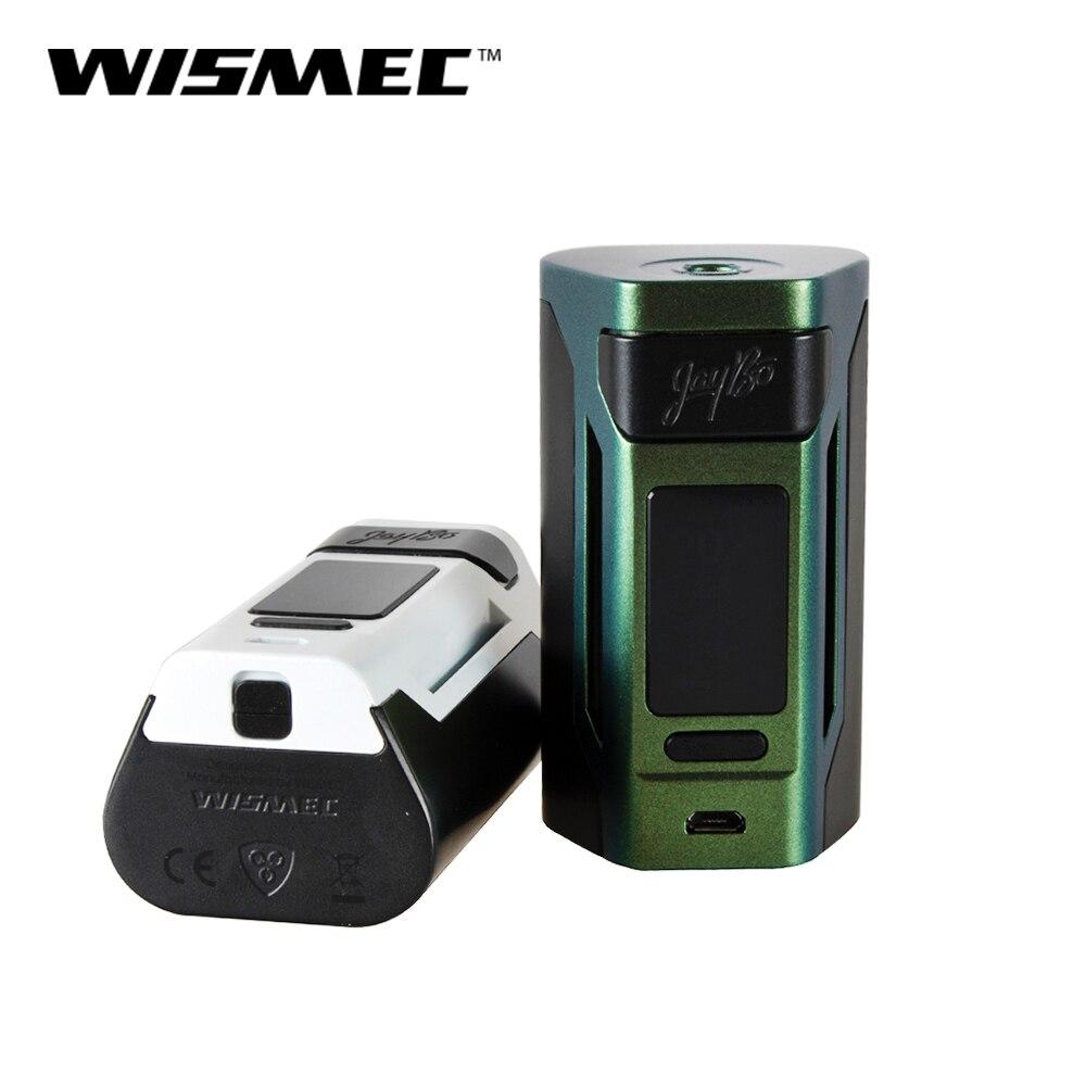 D'origine WISMEC Reuleaux RX2 21700 TC MOD 230 W Sortie avec VW/TC (Ni, Ti, SS)/TCR mode utilise 21700/18650 Batterie Vaporisateur mod boîte