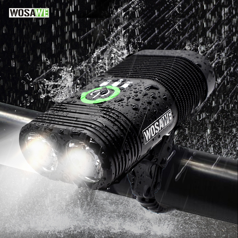 Waterproof 5000LM LED Zoomable Mountain Bicycle Head Light Flashlight+Bike Mount