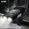 WOSAWE Fahrrad Licht USB Radfahren Led Licht Eingebaute Akku Taschenlampe Lenker Montage Laterne Für EIN Fahrrad|Fahrradlicht|   -