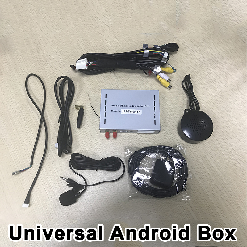 Android 6.0 Universal GPS Navigation Box Included Mirrorlink , WIFI ,Google Play For All Cars With NAV Port