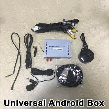 Android 6.0 de Navegação GPS Universal Mirrorlink Caixa incluída, WI-FI, O Google Play para Todos Os Carros com Porta NAV