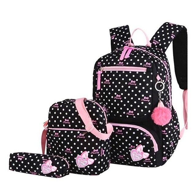 3pcs Children Kids Travel Bag Backpack Lightweight Printing School Bags Teenager Schoolbag Fashion School Backpacks