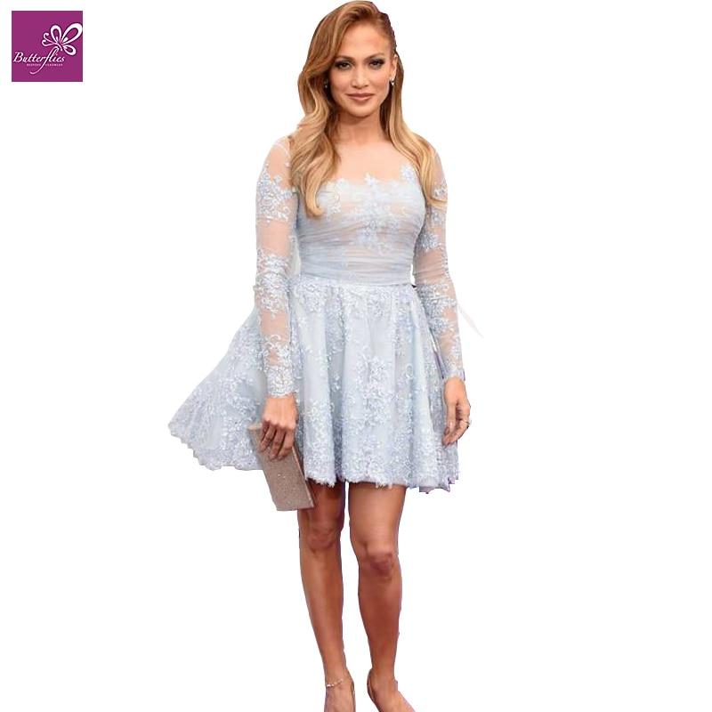 Jlo blue dress online