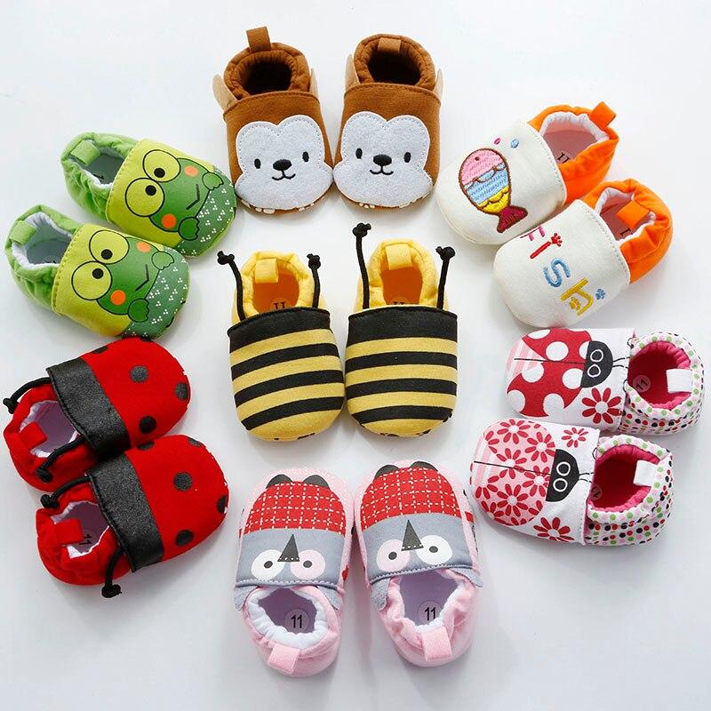 Nieuwe collectie baby baby cartoon schoenen 0-18 m jongens meisjes - Baby schoentjes - Foto 1