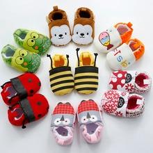 חדש לתינוק תינוק קריקטורה נעליים 0-18M בנים בנות Non-Slip חמוד רק חמוד הנעלה יפה פעוט רך ראשון הליכונים