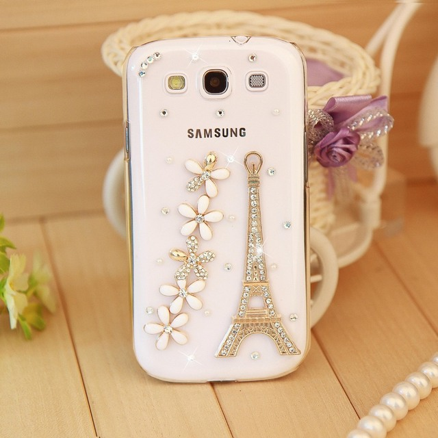 new arrival 1b6d0 a6b73 US $3.9 |4 style case,Fashion Rhinestone Crystal Towers Hard Back Cover  Skin Cell Mobile Phone Case For Samsung Galaxy S3 SIII I9300 Case-in ...