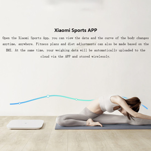 Image 4 - 2019 Original Xiaomi Smart Weighing Scale 2 Bluetooth 5.0 MiFit APP Control Precision Weight Scale LED Display Fitness Household