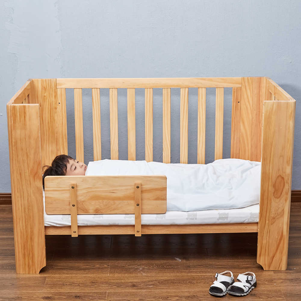 Designer Babybett Baby Bed Multifunction Wooden Cribs For Baby Child Bed Natural Babybett Safe Simple Designer Carry Cot Adjustable Baby Crib