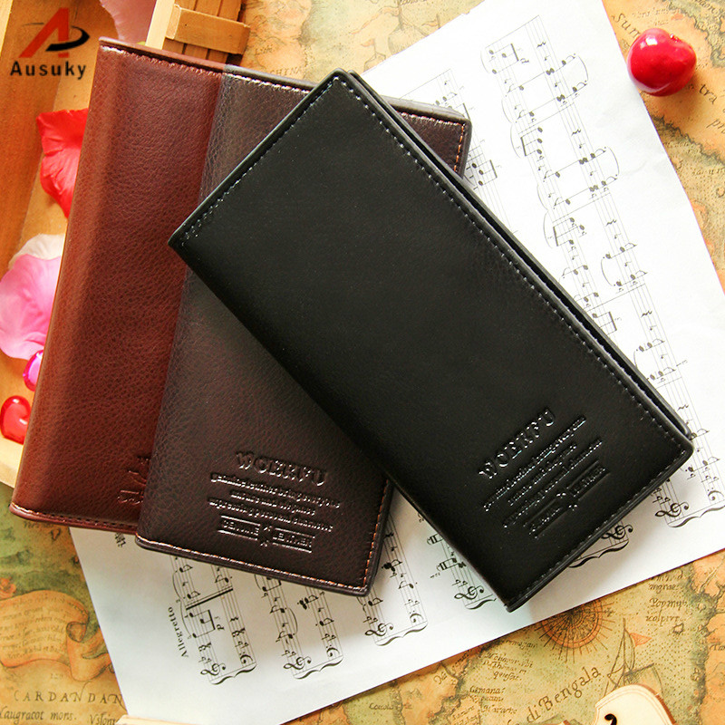 Slim PU Leather Men Wallets Designer Brand Credit Card Holder Male Purses Men Bags carteira masculina Business Wallet 40 hot sale leather men s wallets famous brand casual short purses male small wallets cash card holder high quality money bags 2017