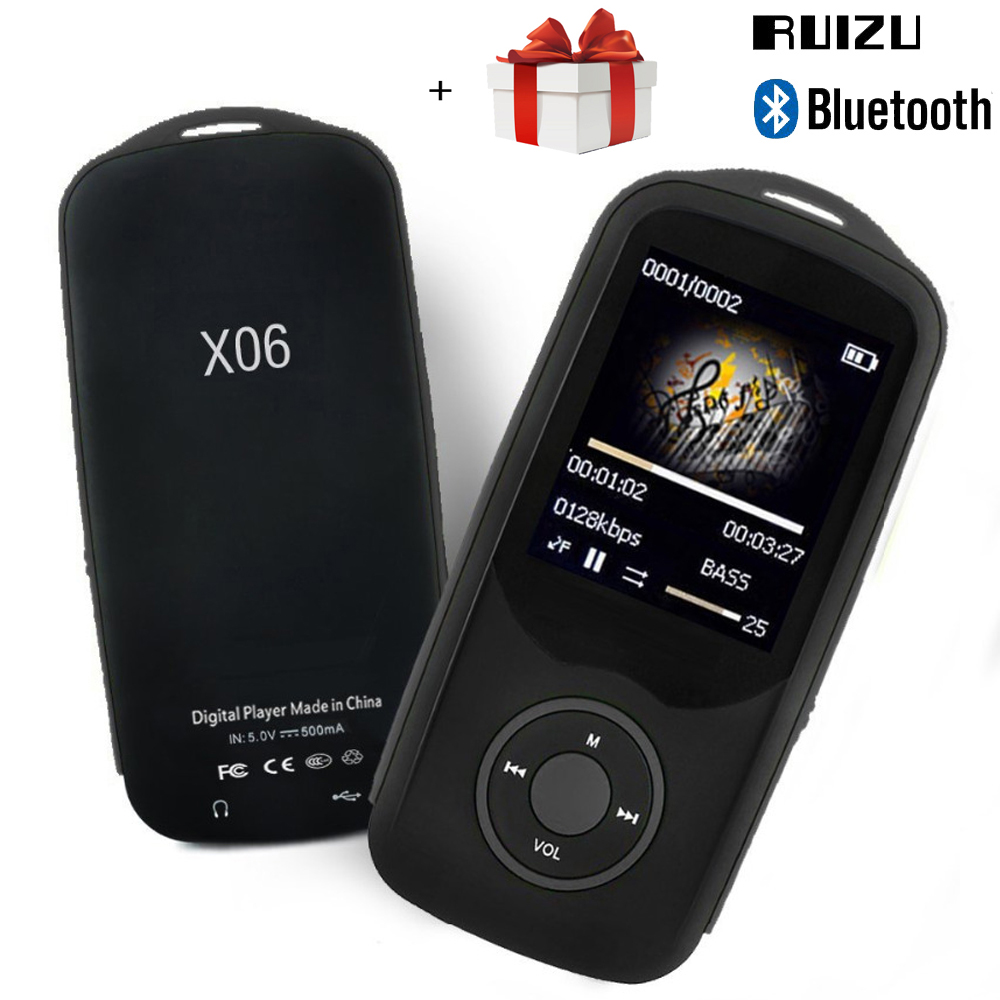 MP3 Player Bluetooth Music Player 8G 16G Support Memory Card UP to 64GB HIFI Music Sound