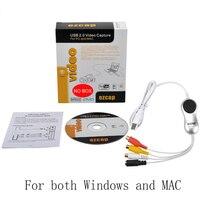 USB Audio Video Capture VHS to DVD Converter Capture Card,Convert old vhs tape tv camera video to PC, Windows 7 8 Win10 & MAC OS