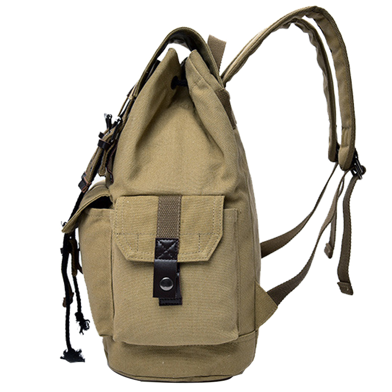 34959f896 Hot A++ Quality Outdoor Travel Luggage Army Bag Canvas Hiking Backpack  Camping Tactical Rucksack Men Military Backpack mochila-in Climbing Bags  from Sports ...