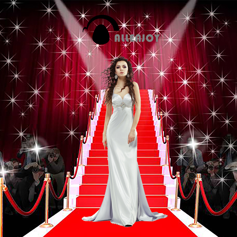 Allenjoy photographic background Tees dazzling red carpet fashion photography fantasy fabric vinyl photocall