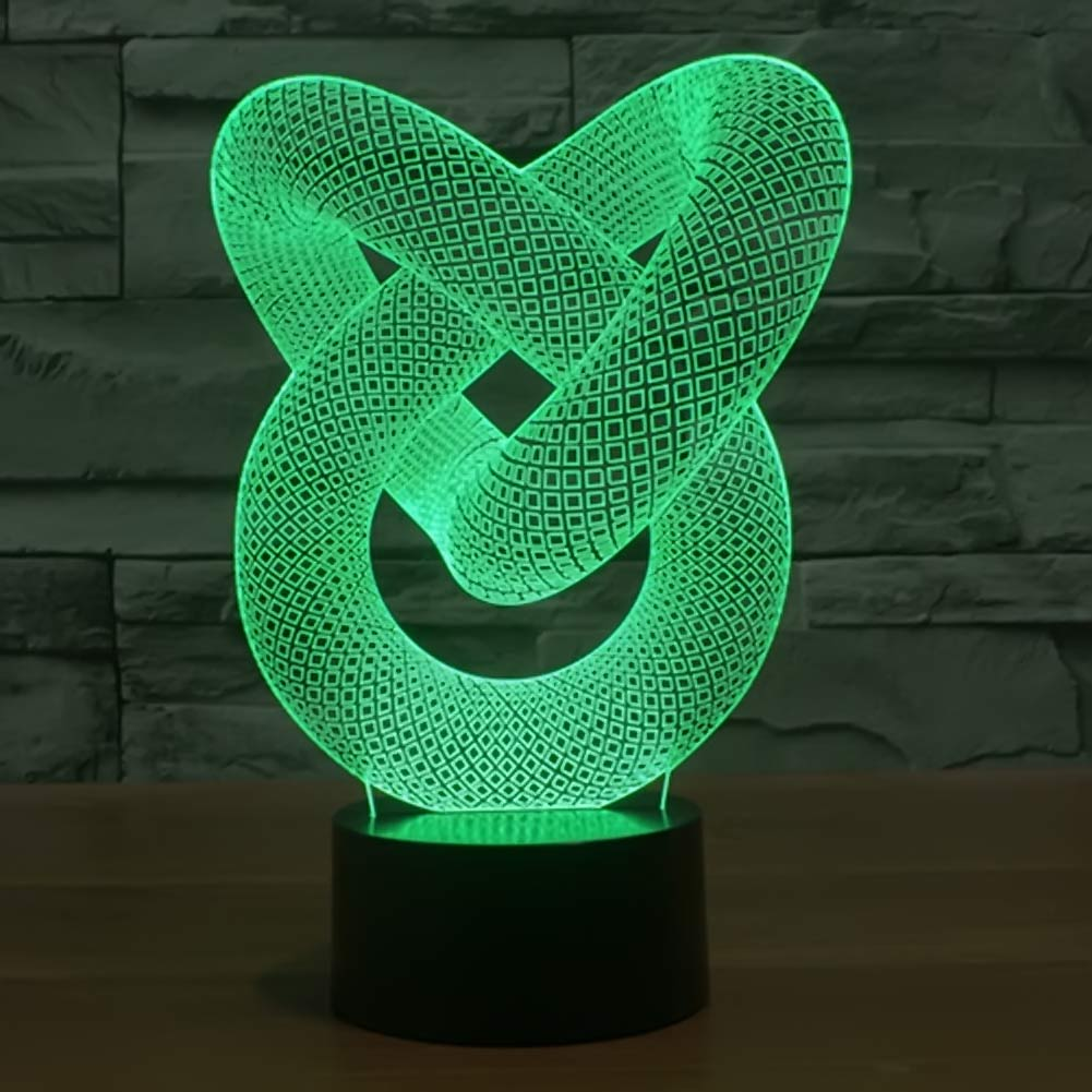 buy MODERN NEW GENERATION AMAZING 3D LED TABLE LAMP - DESK or NIGHT LIGHT 3D LAMP pic,image LED lamps deals