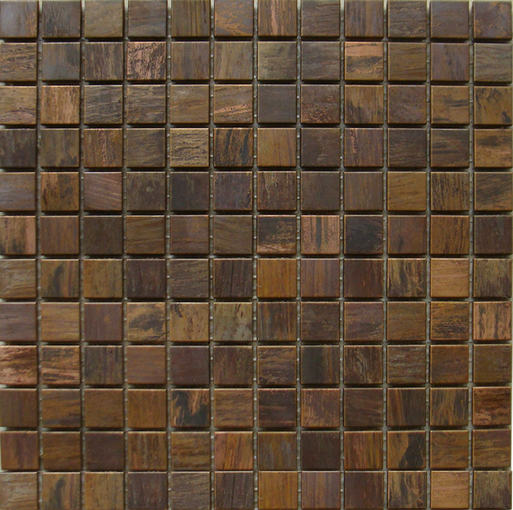 Copper metal mosaic tiles antique tawers roxtec wall tile