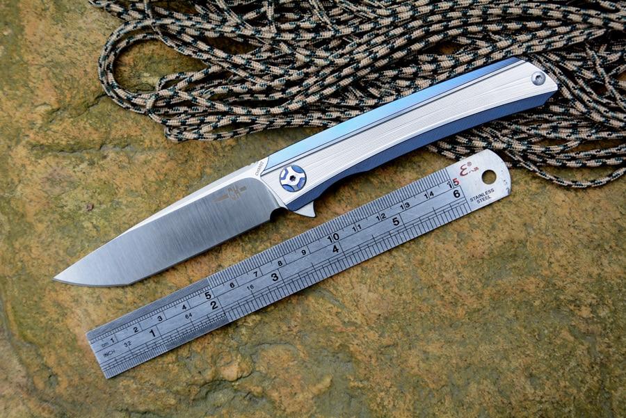 ヾ ノch Knife Ch3002 Folding Knife ᗛ S35vn S35vn Blade