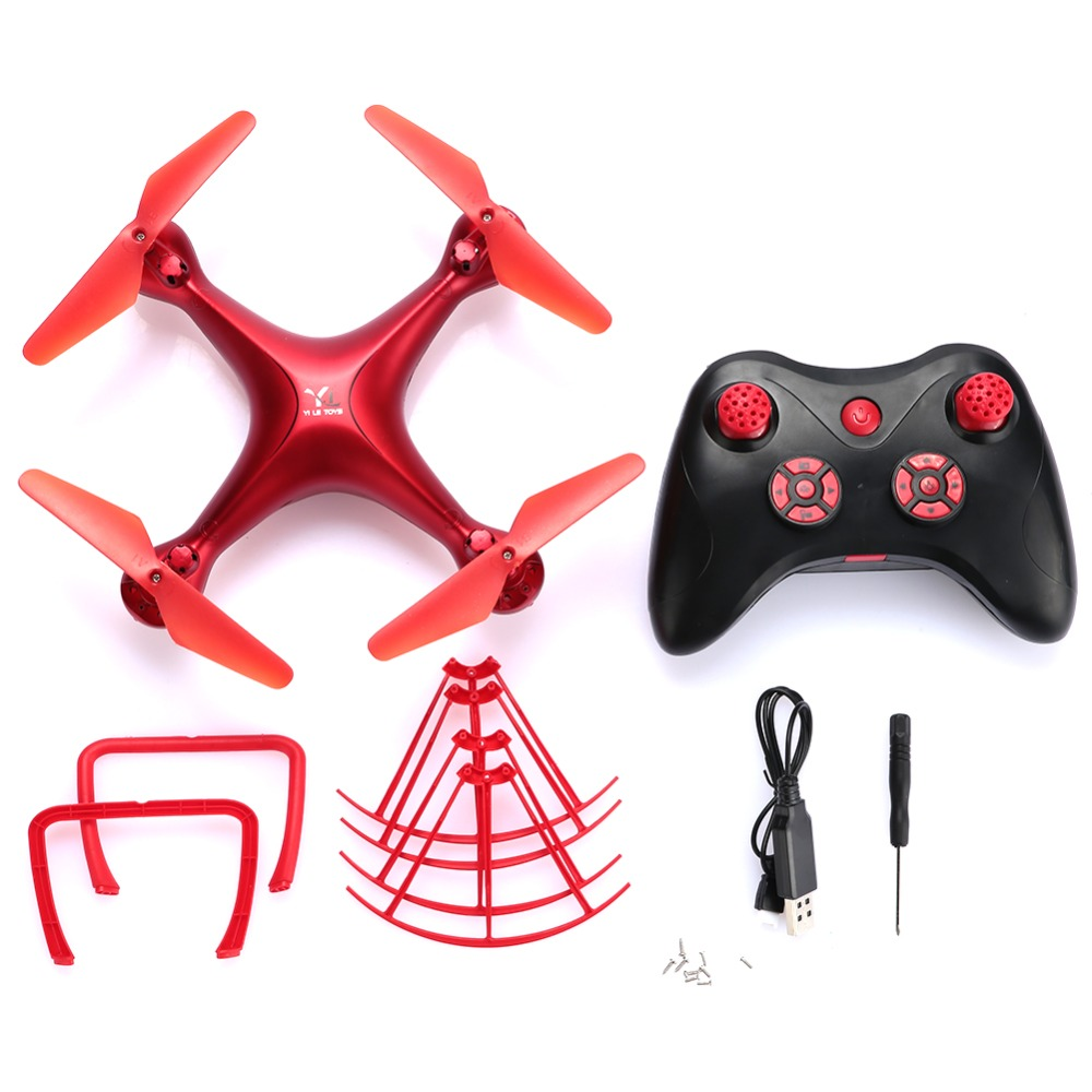 Peradix Z008 Drone ABS 4 Channel 2.4GHz 6-Axis Gyro 360 Degree Rolling One Key Return Altitude Hold no Camera Quadcopter Drone
