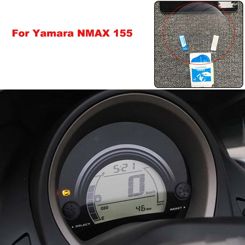 for <font><b>Yamaha</b></font> <font><b>NMAX</b></font> <font><b>155</b></font> NMAX155 Speedometer Instrument Dashboard Film Screen Protector Anti-purple Explosion-proof Film image